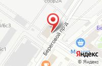 Схема проезда до компании Прайм в Москве