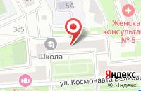 Схема проезда до компании Нарица в Москве