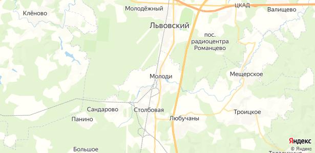 Молоди на карте