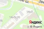 Схема проезда до компании Знак Качества в Москве