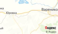 Частный сектор города Чекон на карте