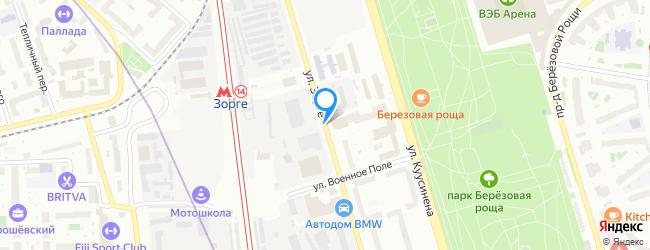 улица Зорге