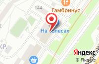 Схема проезда до компании Эванс в Москве