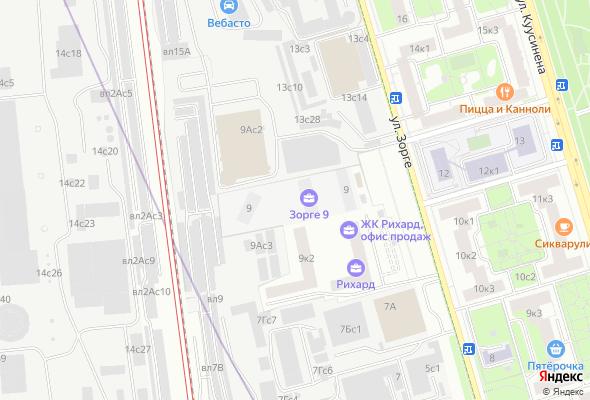 жилой комплекс Зорге 9