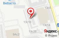 Схема проезда до компании Полипринт Групп в Москве