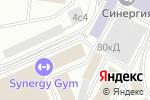 Схема проезда до компании Анжелика в Москве