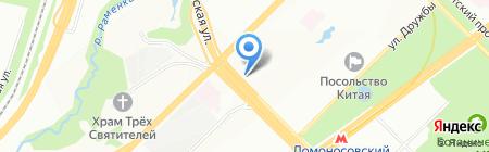 Jadran на карте Москвы