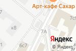 Схема проезда до компании Столовая на ул. Барклая в Москве