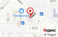 Схема проезда до компании Техсистем в Москве