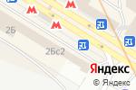 Схема проезда до компании Много цветов в Москве