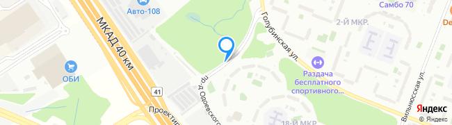 проезд Одоевского