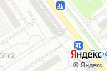 Схема проезда до компании Автостоянка №2 на Онежской в Москве