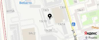 Авто-комфорт на карте Москвы
