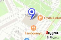 Схема проезда до компании МЕБЕЛЬНЫЙ МАГАЗИН ТРИУМФ в Москве