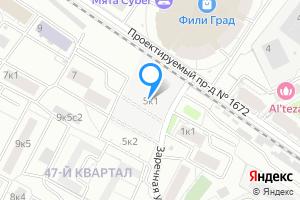 Комната в Москве м. Фили, Заречная улица, 5к1