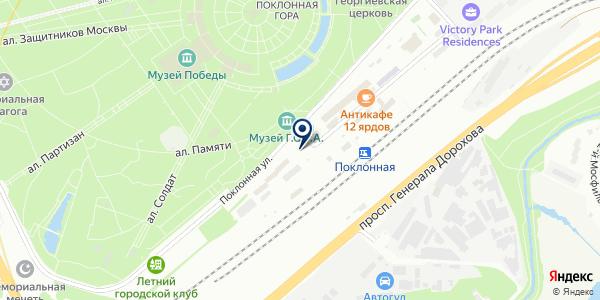 ТК ЛЕС СЕВЕРА на карте Москве