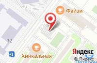 Схема проезда до компании Кристина и К в Москве