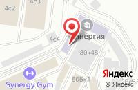 Схема проезда до компании Евротелс в Москве