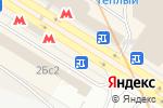 Схема проезда до компании Продуктовый магазин на Новоясеневском проспекте в Москве