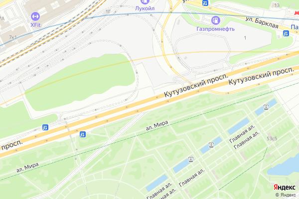 Ремонт телевизоров Кутузовский проспект на яндекс карте