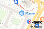 Схема проезда до компании Кактус в Москве
