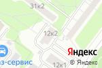 Схема проезда до компании Районный отдел жилищных субсидий в Москве