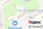 Схема проезда до компании Фили Хаус Отель в Москве