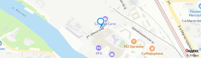 улица Шеногина