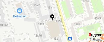 Зорге 13 на карте Москвы