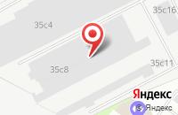 Схема проезда до компании Круг в Москве
