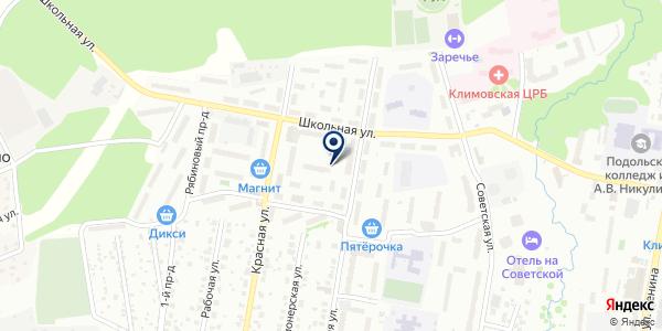 Ремонтная мастерская на карте Подольске