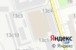 Схема проезда до компании Гаражно-строительный кооператив №4 в Москве