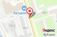 Схема проезда до компании Спектр-М в Москве