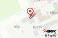Схема проезда до компании Корсар в Москве