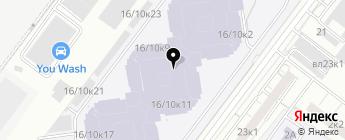 Лоудэр Групп на карте Москвы