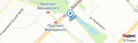 АбрикосПринт на карте Москвы