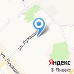 Детская поликлиника №1 на карте Щёкино