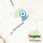 Межрайонный регистрационно-экзаменационный отдел на карте Щёкино