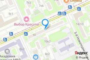 Однокомнатная квартира в Москве ул. Зои и Александра Космодемьянских, 10