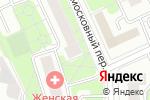 Схема проезда до компании Снежинка в Москве