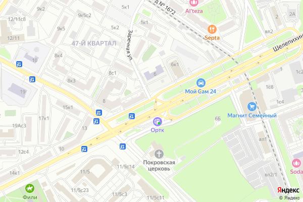 Ремонт телевизоров Улица Заречная на яндекс карте