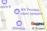 Схема проезда до компании Арендное ремонтно-строительное предприятие Фрунзенского района в Москве