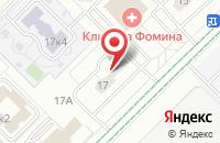 Схема проезда до компании Идель в Москве
