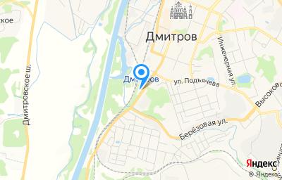 Местоположение на карте пункта техосмотра по адресу Московская обл, г Дмитров, ул Московская, д 29 стр 1