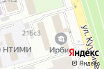 Схема проезда до компании Радом-К в Москве