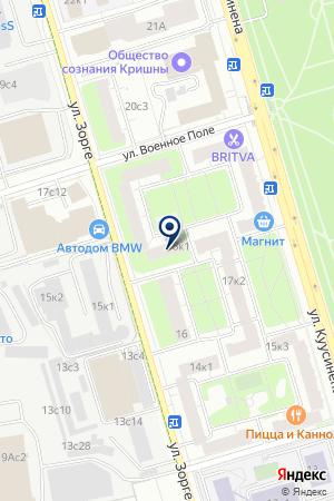 РЕДАКЦИЯ ЖУРНАЛА МИР & ДОМ. CITY на карте Москвы