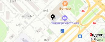 БонАвто на карте Москвы