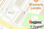 Схема проезда до компании Elena FEDEL в Москве