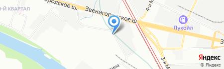 Металлополимерные материалы ЛЕО на карте Москвы