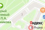 Схема проезда до компании Enframe в Москве